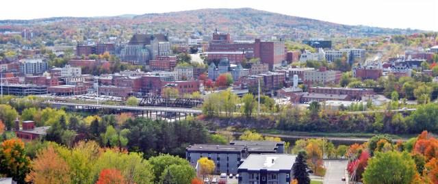 Immagine panoramica di Sherbrooke