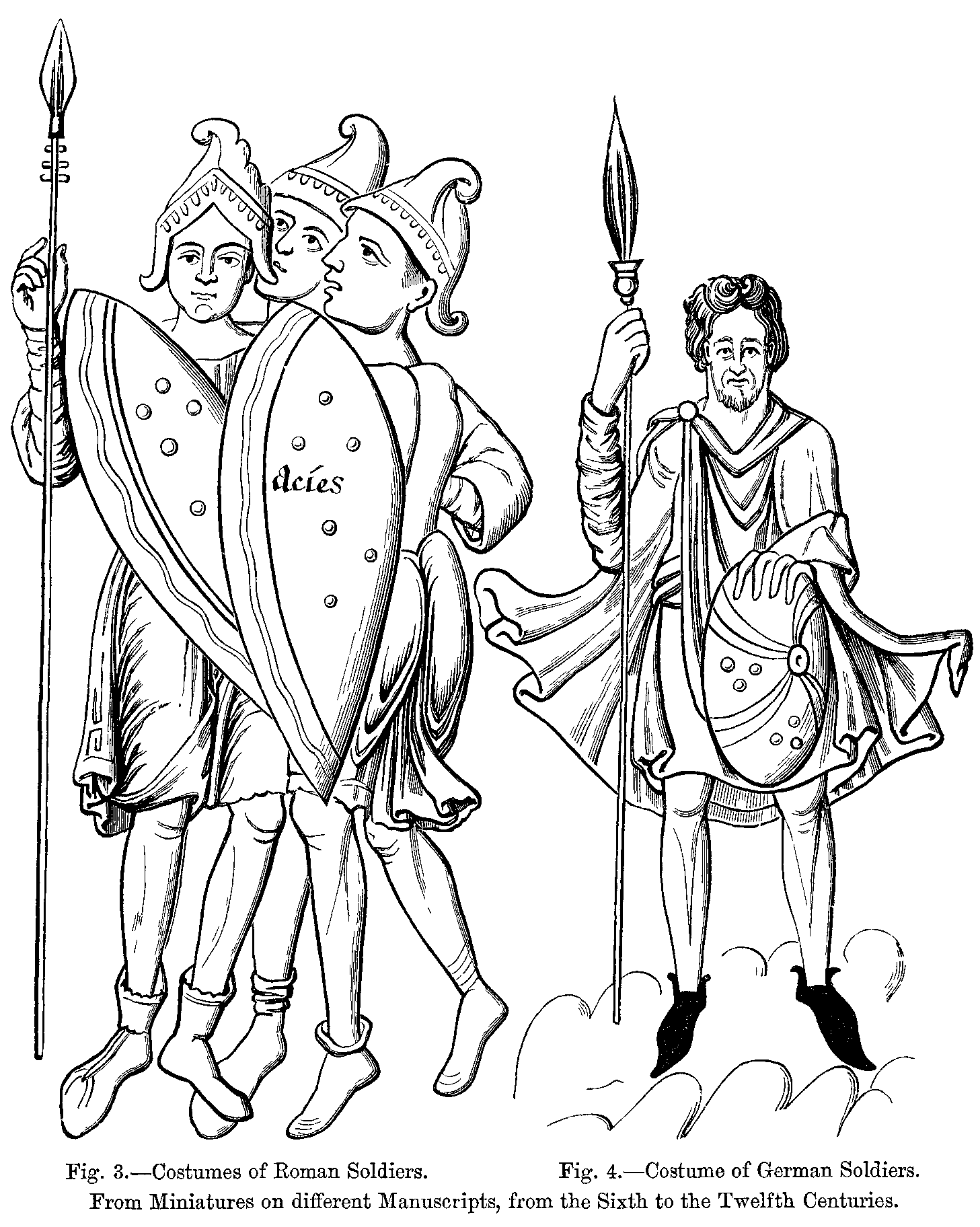 Fichier Costumes Of Roman And German Sol Rs