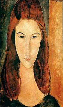 Modigliani, Jeanne Hebuterne (1919)
