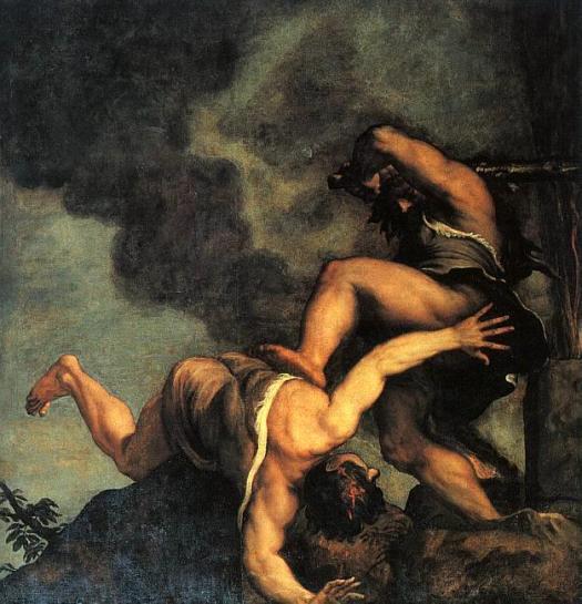Ce theme biblique a inspiré bien des artistes on reconnait, entre autres, Titien et Tintoret -CLIQUEZ c'est le tableau de Titien qui est agrandit