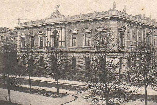 Valandshuset kring år 1900