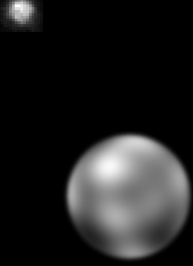 Pluto HST