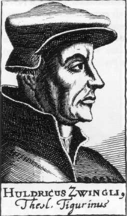 Deutsch: Zwingli