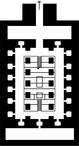 Plan of the Osirion at Abydos