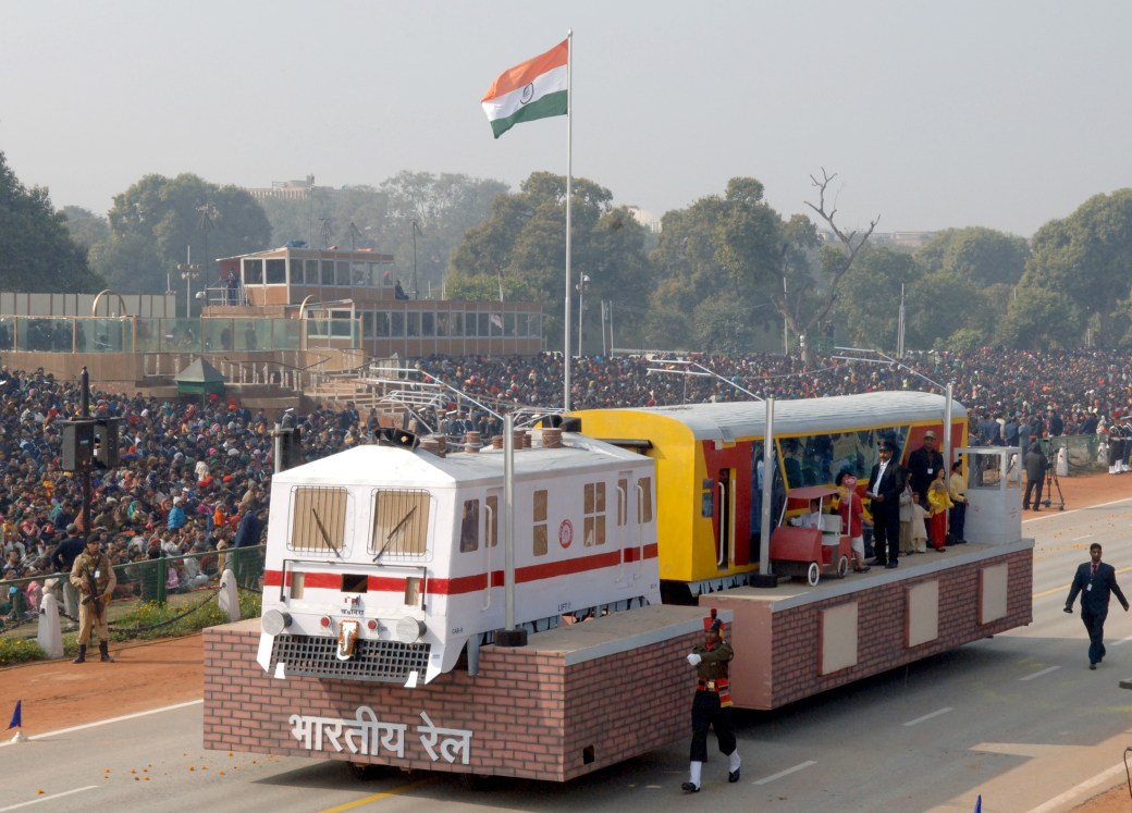 Image result for republic day parade railways