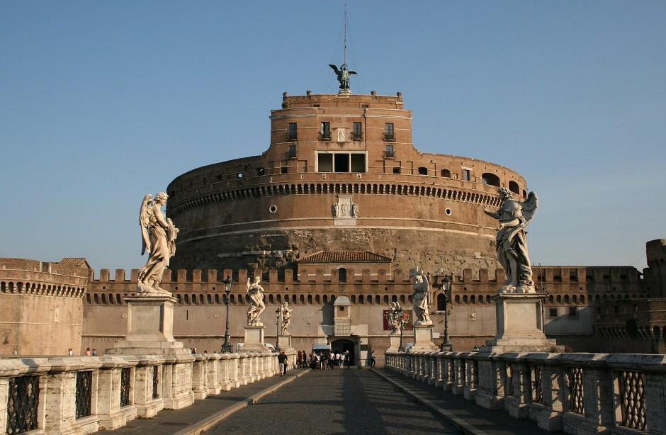 Castelo Sant'Angelo, em Roma
