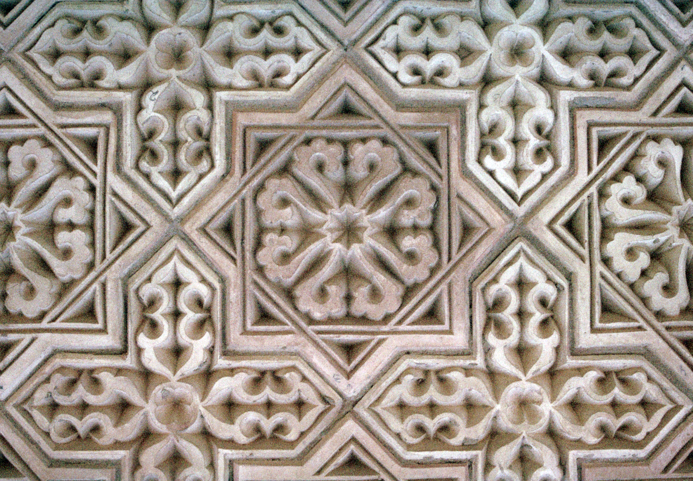 English: Aisha Bibi Tile Detail