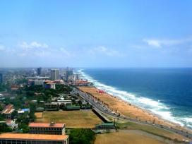 View of galle face