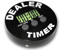 English: A poker timer dealer button Français ...