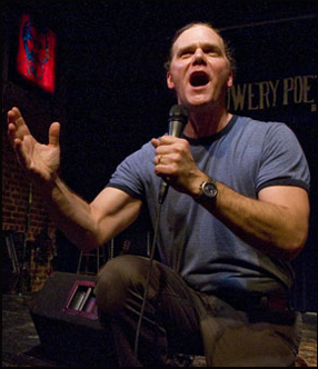 "Taylor Mali med spoken word-texten ""What ..."