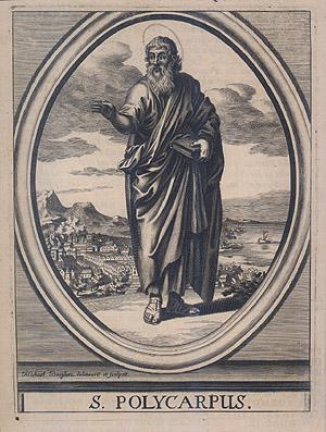 English: Saint Polycarp