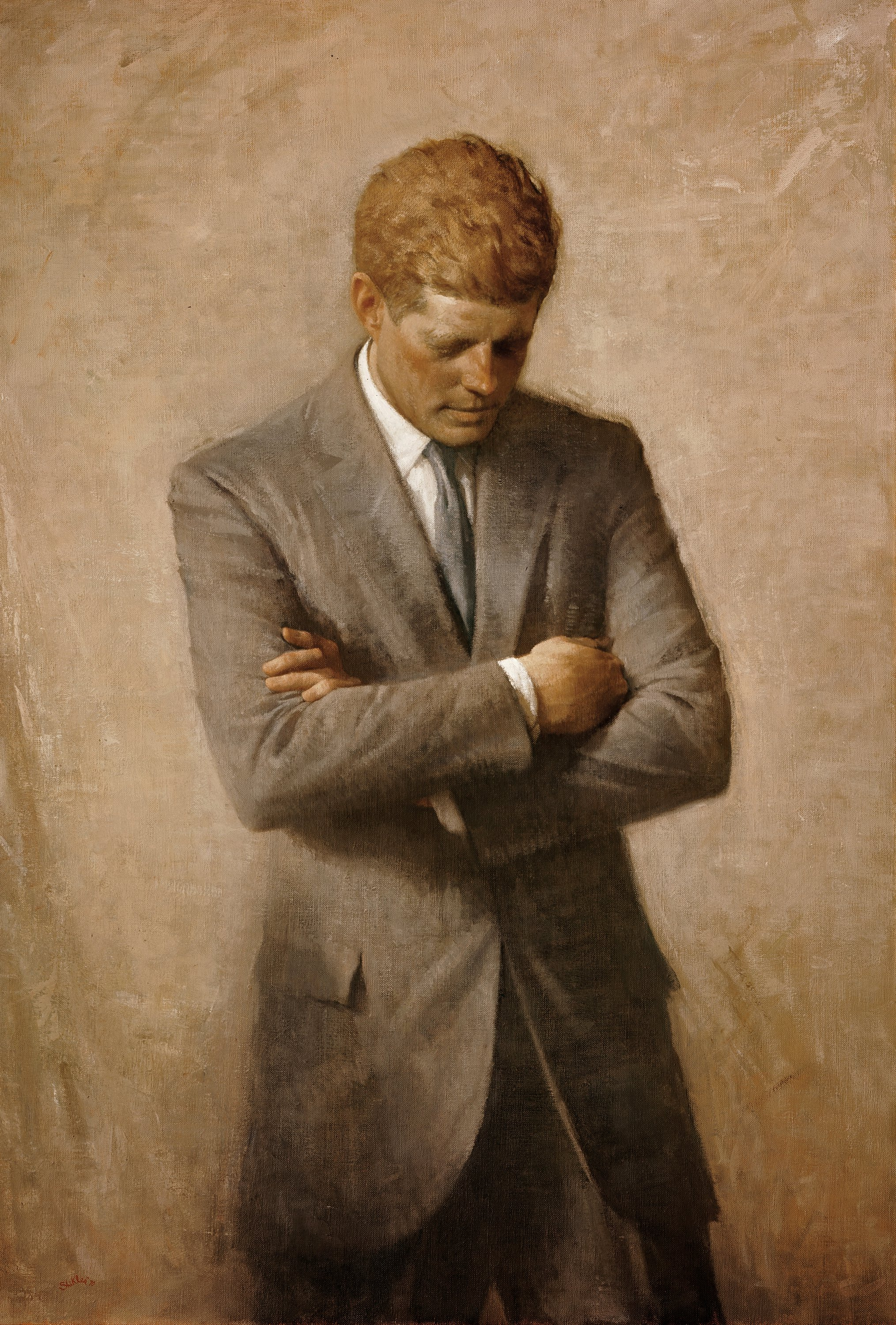 John F Kennedy Official Portrait