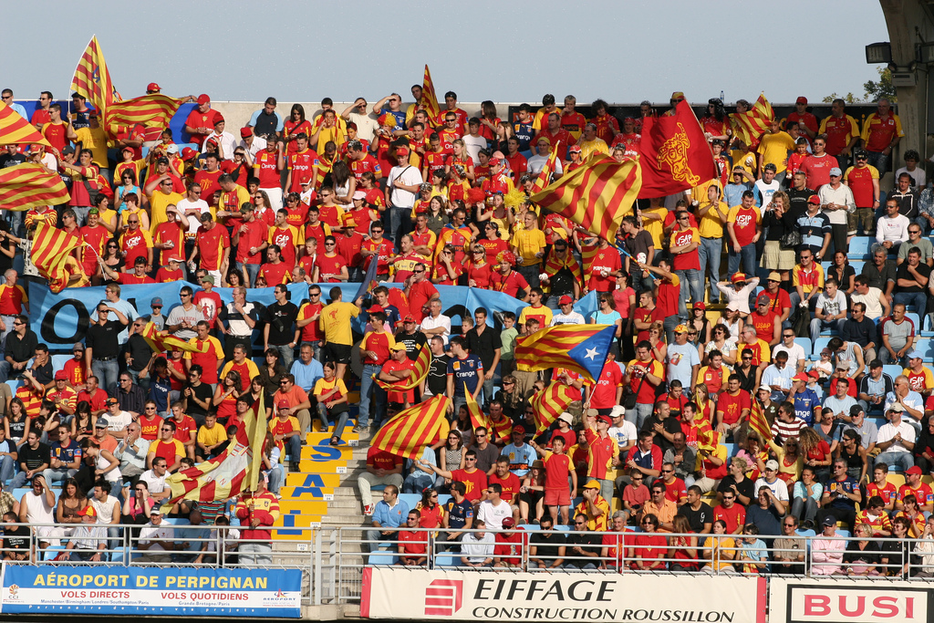 Átlagos látkép egy Perpignan meccsen - forrás: Wikimedia Commons
