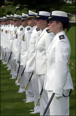 United States Coast Guard Academy - graduation...