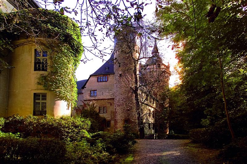 Odenwald Alemannenweg Schloss Fuerstenau