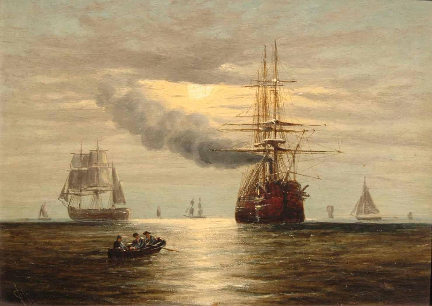 File:Steam-powered sailing ship and other craft by ...