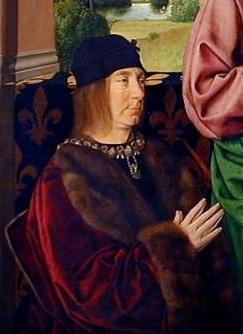 Portrait de Pierre II, sire de Beaujeu, duc de...