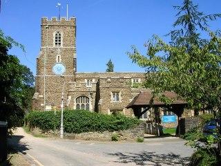 St Andrew's church in Ampthill.