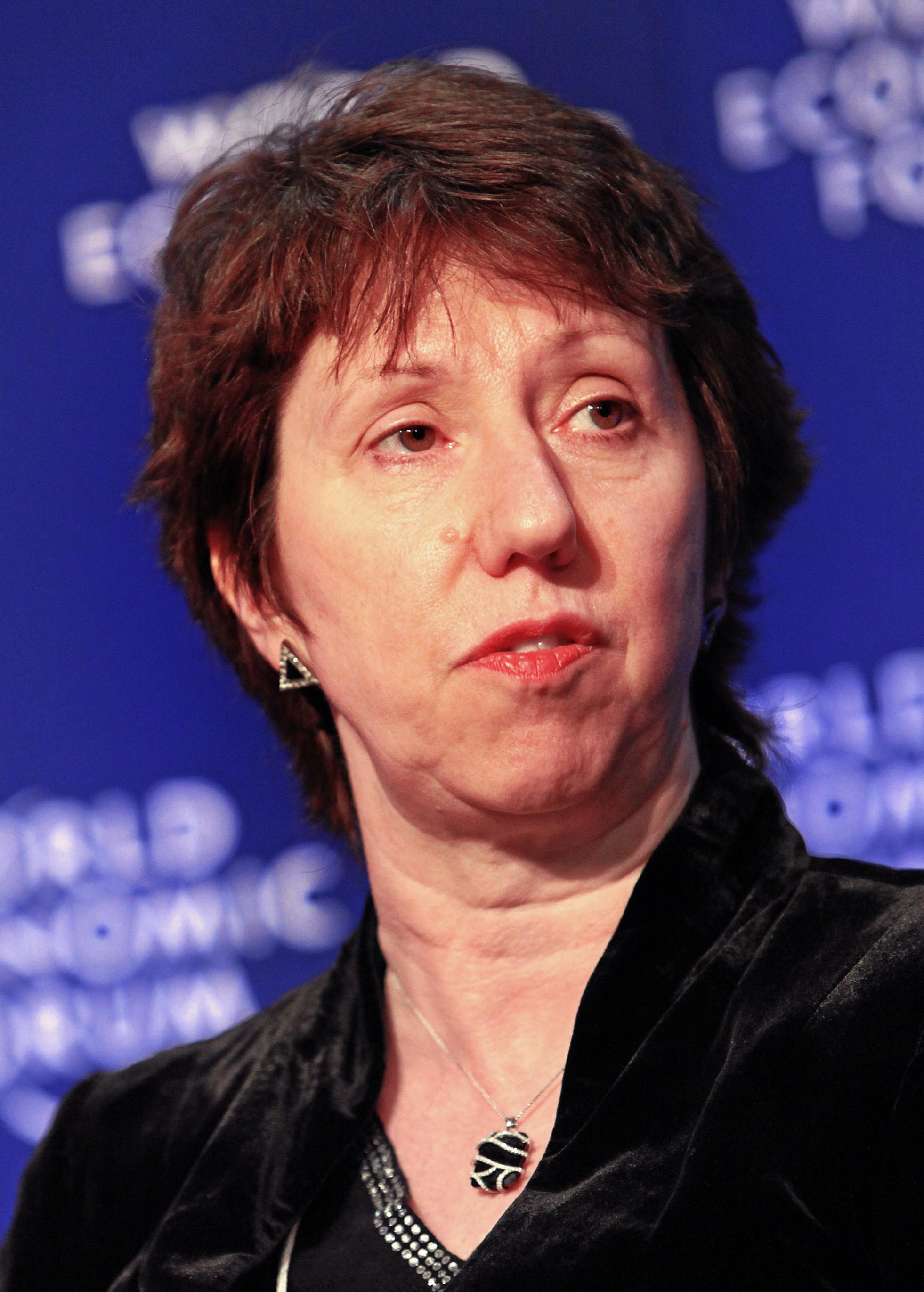 """Catherine Ashton, EU:s """"utrikesminister"""""""