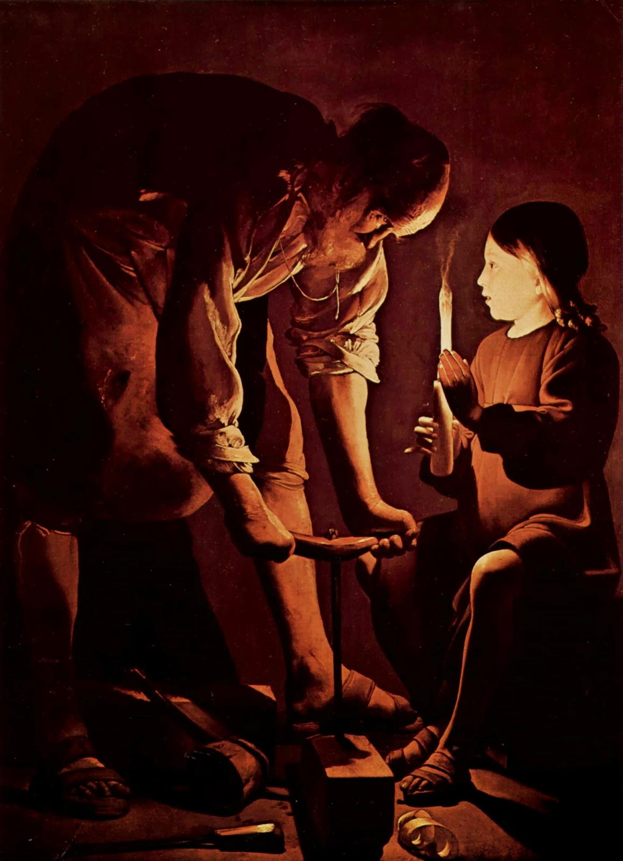 Image result for St. Joseph the Worker de la tour