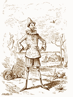 Pinocchio visto da Enrico Mazzanti (1883)