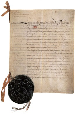 image for the Edict of Nantes