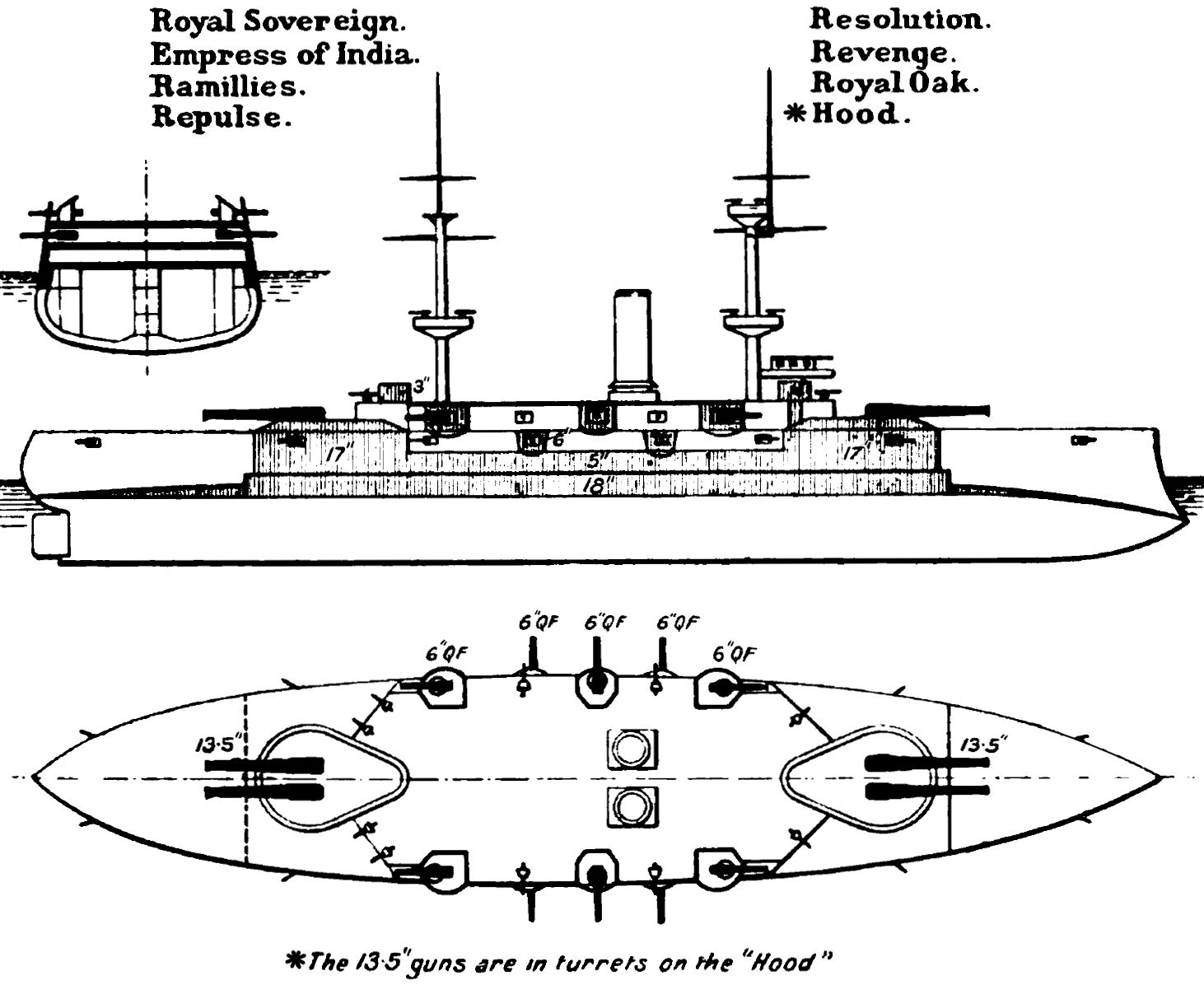 File Royal Sovereign Class Diagrams Brasseys
