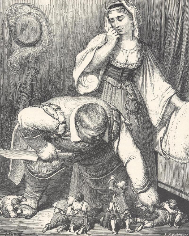 Le Petit Poucet, illustrato da Gustave Doré