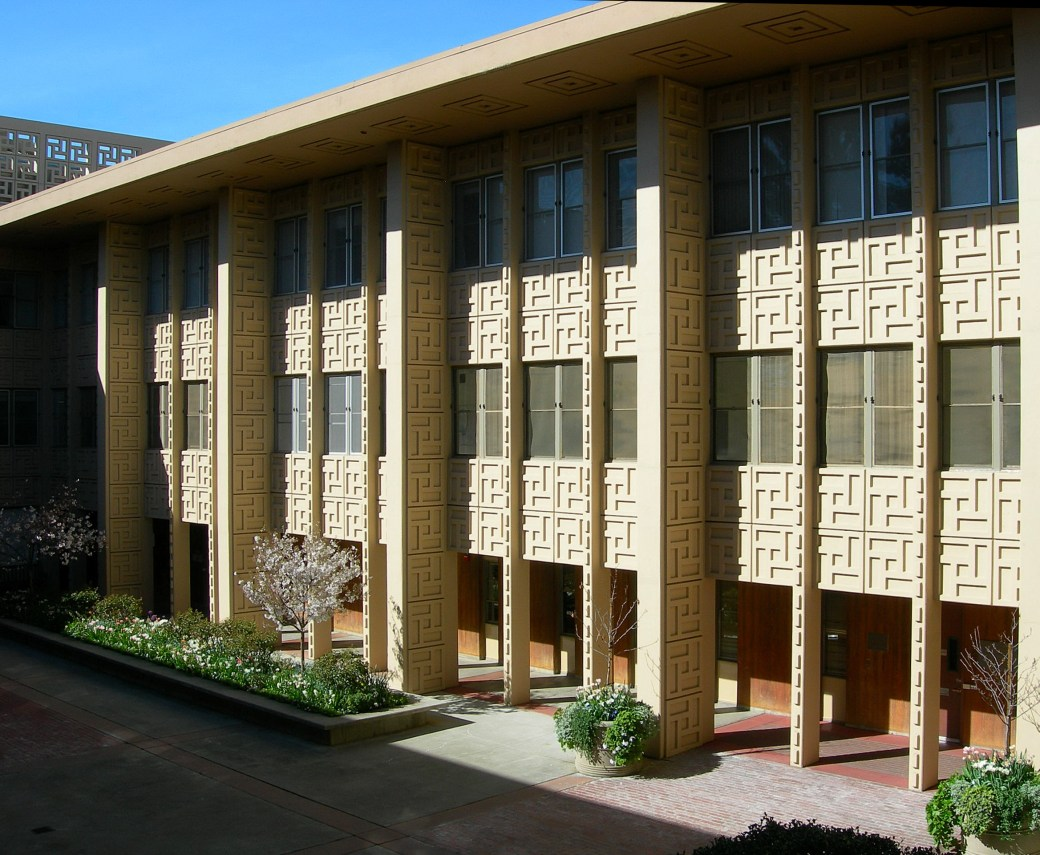Stanford U. Medical Center Palo Alto, California, 1955.