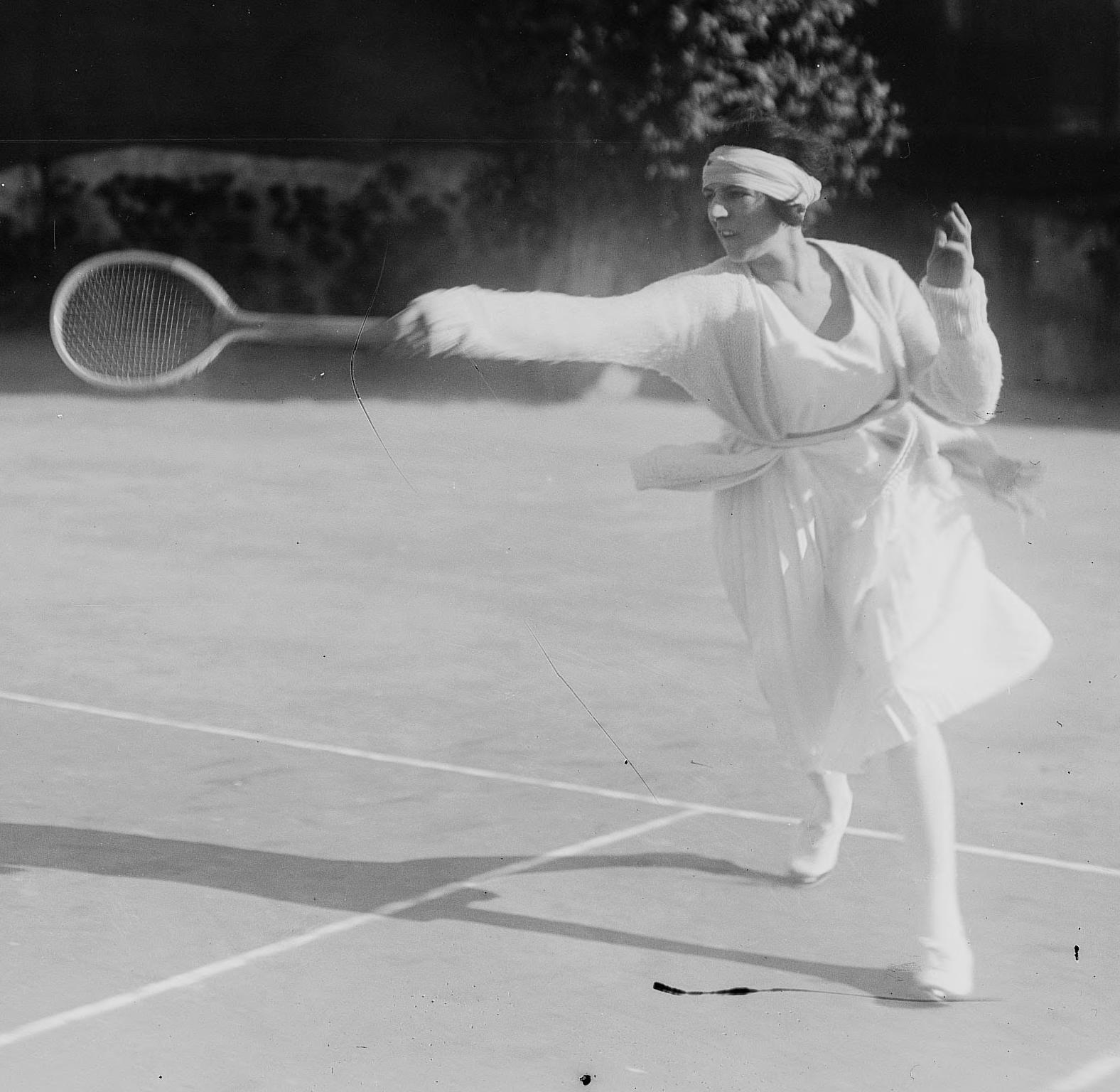 Suzanne Lenglen 1920s Olympics
