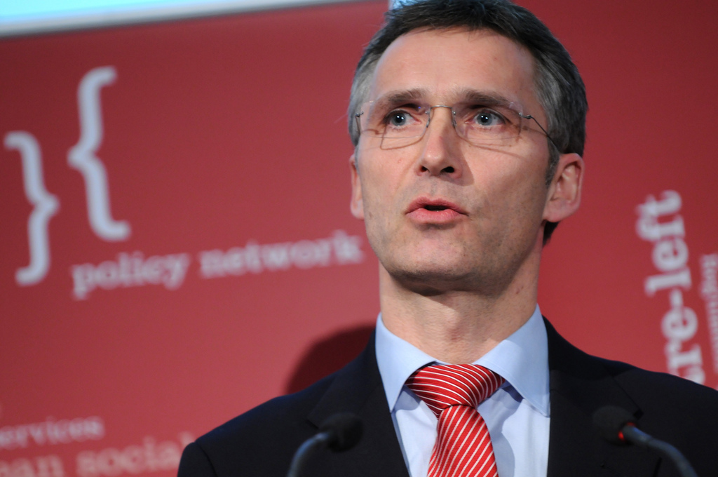 Statsminister Jens Stoltenberg (Ap)