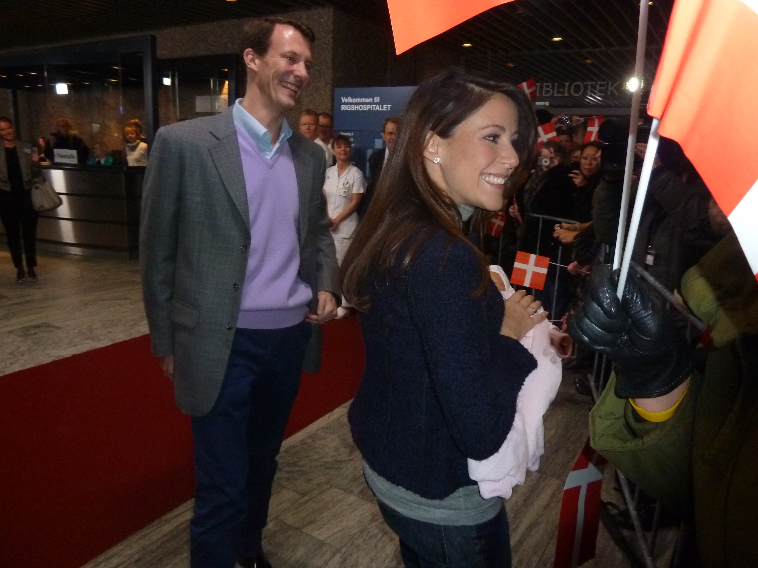 Prince Joachim and Princess Mary