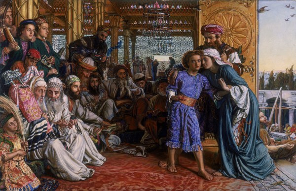 William Holman Hunt, The Finding of the Saviour in the Temple