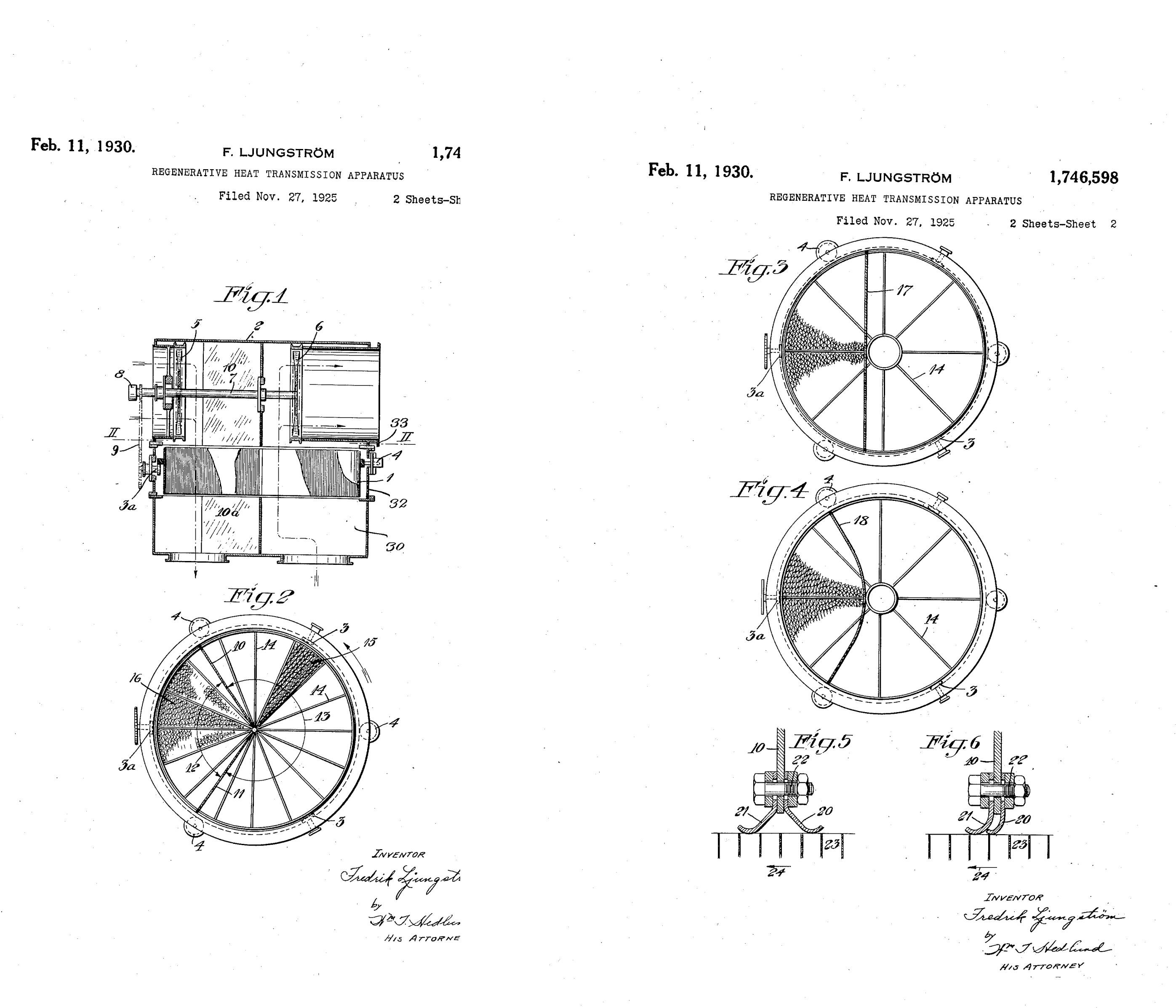 File Ljungstrom Regenerative Heat Transmission Apparatus