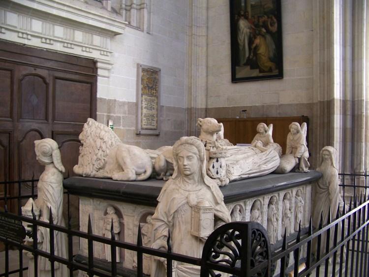 Tomba di Francesco II di Bretagna - Wikipedia