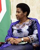 English: Phumzile Mlambo-Ngcuka, Vice Presiden...