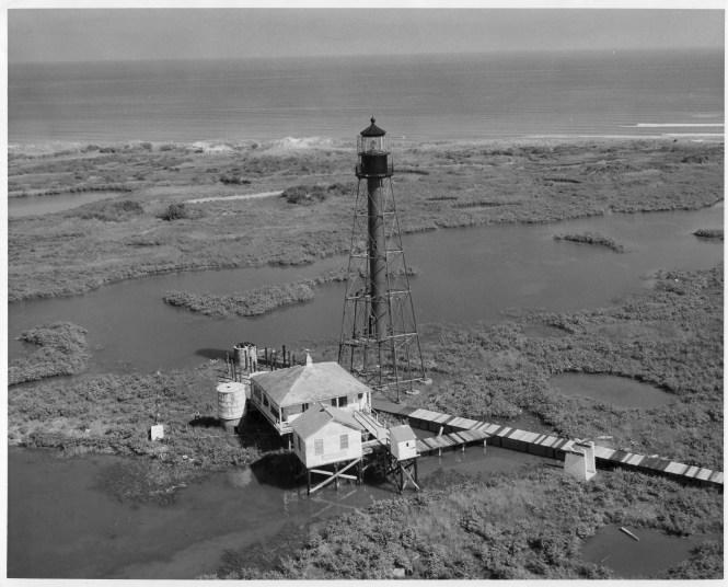File Chandeleur Island Light La 1960 Jpg