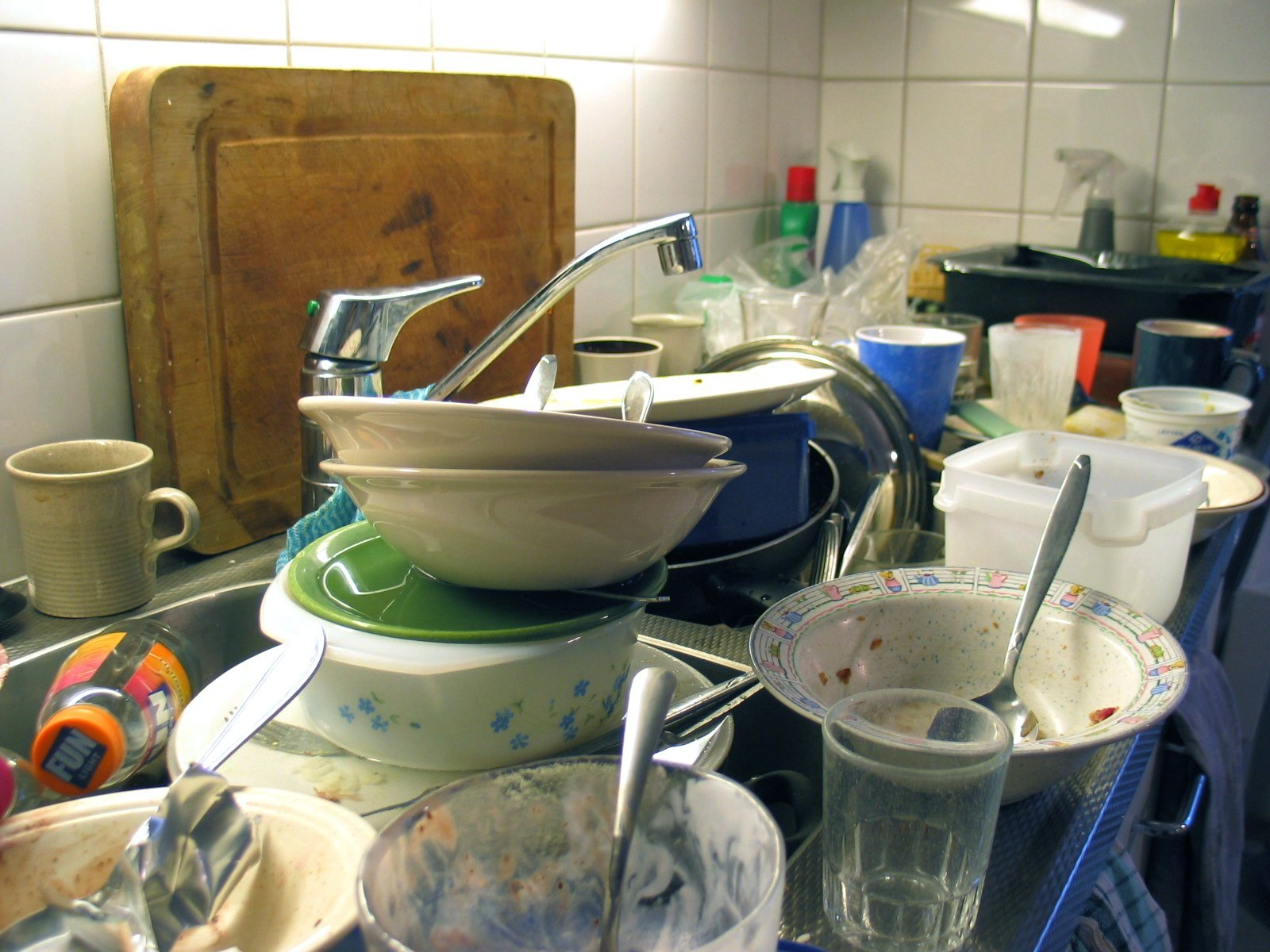 why I Love doing the dishes