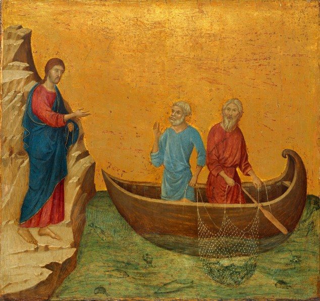 Image result for disciples following jesus painting