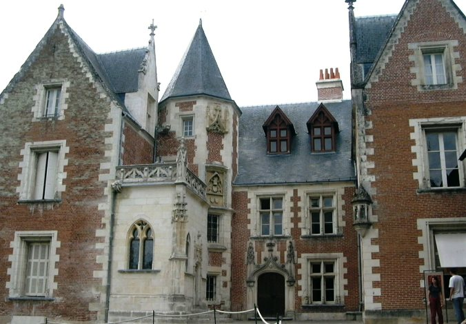 Clos Lucé, Leonardo Da Vinci's house, where he died. Amboise, France.
