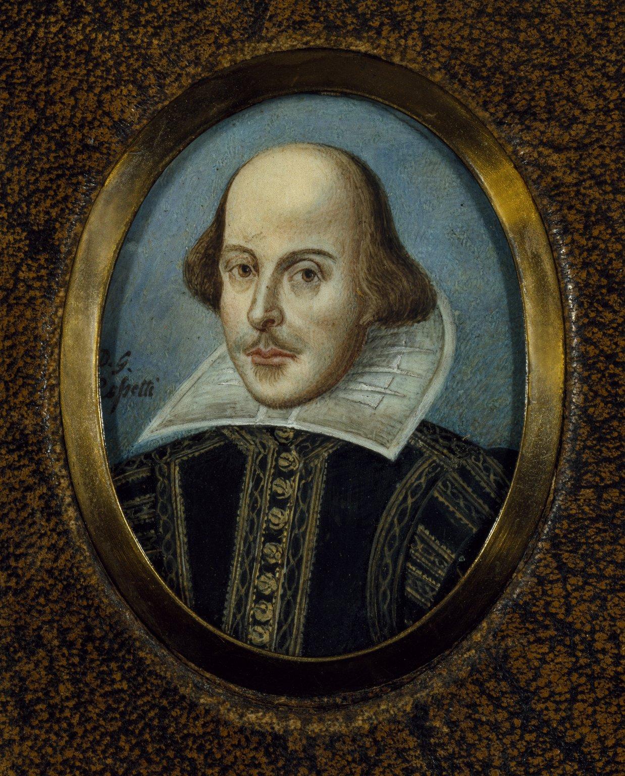 File Portrait Of Shakespeare Rossetti C