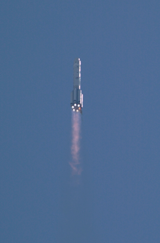 Proton rocket launch