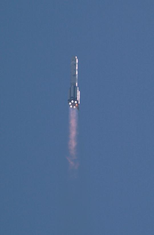 Proton rocket launch