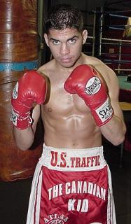 Steve Molitor, a Canadian professional boxer