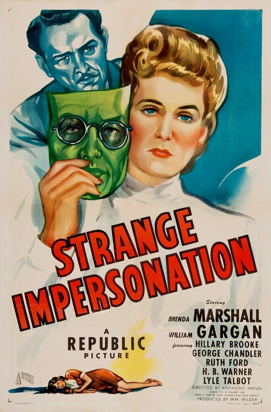 Strange Impersonation Wikipedia