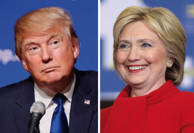 Image result for trump vs hillary