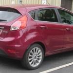 File 2014 Ford Fiesta Titanium X Ecoboost 1 0 Rear Jpg Wikimedia Commons