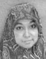 English: Aafia Siddiqui from her FBI wanted poster