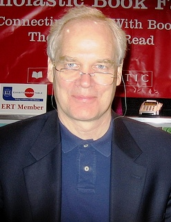Andre Clements at a book signing June 28, 2008