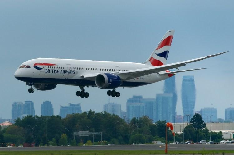 Resultado de imagen para british airways 787